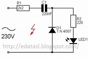electronic circuit componnent data lesson and etc With 230volt led circuit