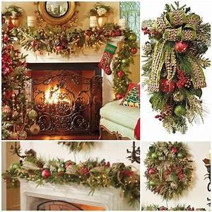 decoration de noel pour plus confort espace 50 idees sympas With nice decoration exterieur pour jardin 3 decoration de cheminee interieur