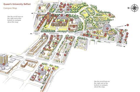 queens university belfast map belfast northern ireland