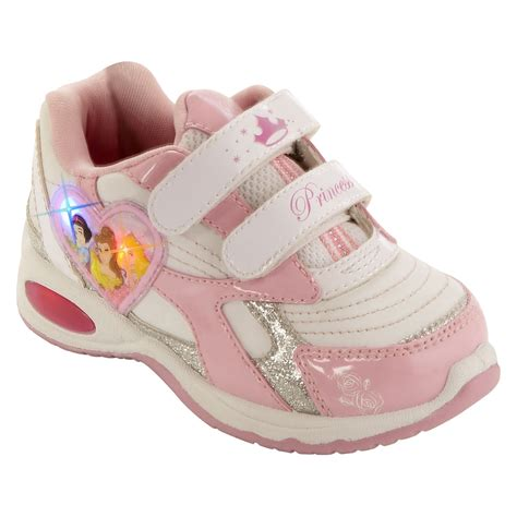 light up shoes for baby disney toddler s princess light up athletic shoe pink