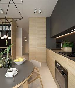 Awesome 40 Cozy Small Apartment Kitchen Design Ideas  More At S     Trendecora Co U2026