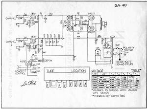 Gibson Ga40 Schematic Versions And Output Transformer