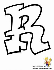 Letter R Coloring Page - AZ Coloring Pages
