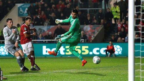 Bristol City 2-1 Manchester United - BBC Sport