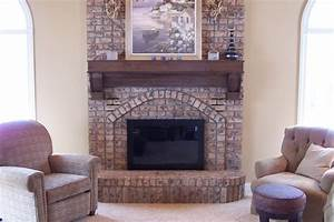 Woodwork How to build a fireplace mantel shelf over brick