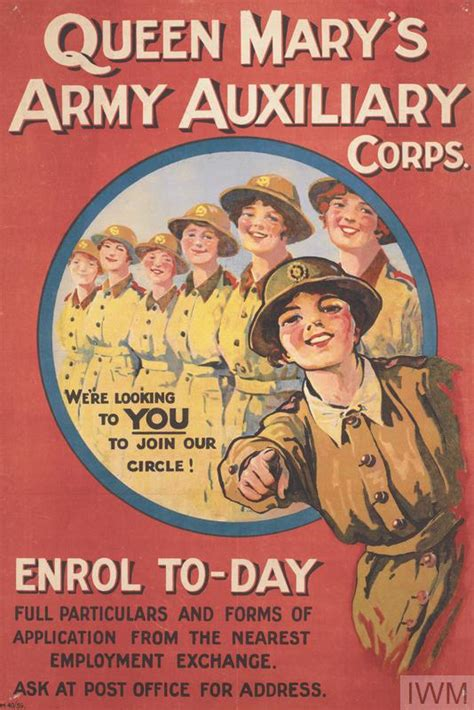 queen marys army auxiliary corps imperial war museums