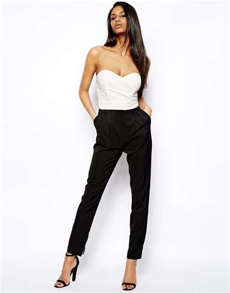 bustier jumpsuit 16 stylish jumpsuits for the fashion supernova