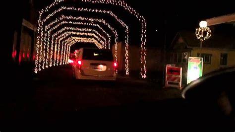 christmas lights coulon park lights on the lake at lakemont park 2016 hyperlapse