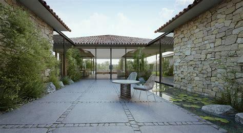 style courtyards modern cottage courtyard 2 interior design ideas