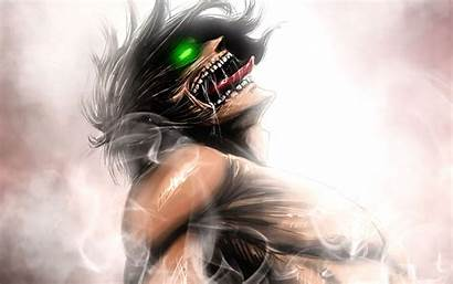 Titan Attack 4k Eren Anime Form Yeager