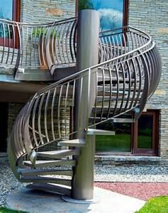 Escalier Helicoidal Exterieur Prix : escalier colimaon exterieur stunning prix duun escalier ~ Premium-room.com Idées de Décoration
