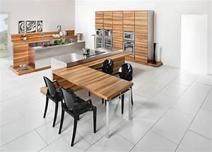 Plan De Travail En Bois : plan de travail pour cuisine choisir la bonne couleur ~ Dailycaller-alerts.com Idées de Décoration