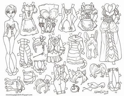 Paper Halloween Dolls Doll Princess Disney Fairy