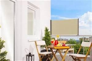 seitenmarkise als wind sichtschutz kaufen bei empasa With markise balkon mit tapete barock creme