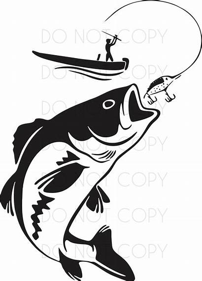 Svg Fisherman Fish Catching Dxf Embroidery Boat