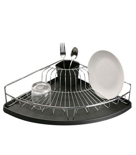 evier cuisine angle égouttoir à vaisselle d 39 angle en inox et bac récupérateur