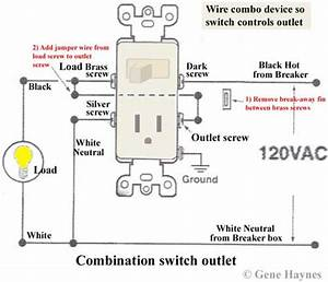 Wiring Diagram Switched Outlet