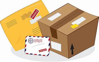 Envelope Padded Clip Clipart Package Yellow Vector