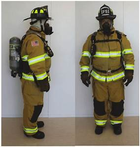 Standard Personal Protective Equipment  Bunker Gear With A