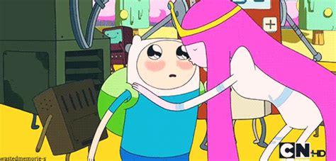 Adventure Time Kiss Gif