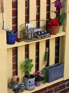 Etagere De Jardin Pour Plantes : etagere murale pour jardin ~ Teatrodelosmanantiales.com Idées de Décoration