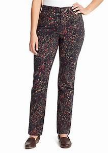 Gloria Vanderbilt Amanda Jeans Size Chart Gloria Vanderbilt Amanda Floral Burst Jeans Belk