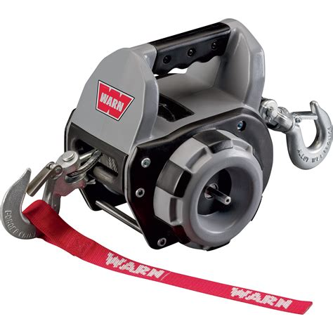 Warn Drill Powered Winch — 500lb Pulling Capacity, Model