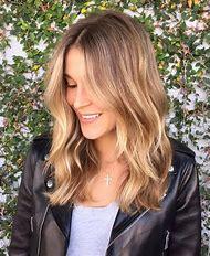 Brown Hair with Blonde Balayage