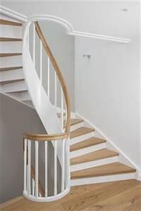Treppe Geölt Oder Lackiert : 1 2 gewendelte treppe in buche keilgezinkt wangen und gel nder deckend weiss lackiert treppe ~ Markanthonyermac.com Haus und Dekorationen