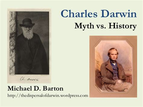 charles darwin myth  history