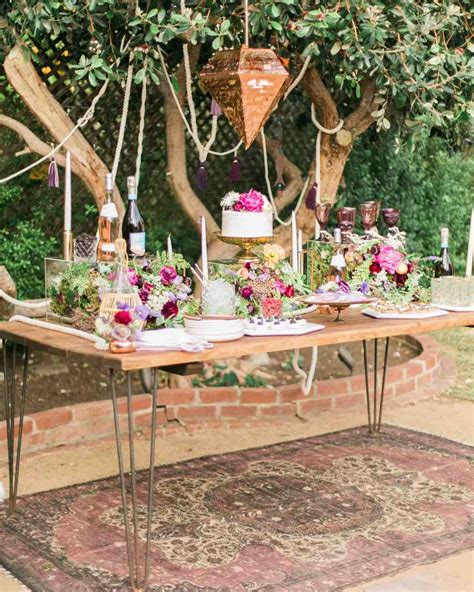 boho chic table ls you 39 ll want to pin every detail of this boho chic