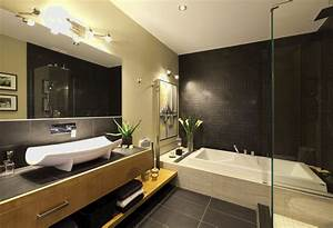 salle de bain moderne avec douche italienne With architecture salle de bain