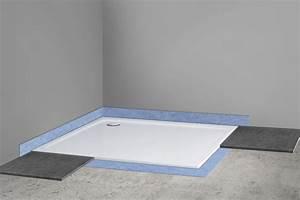 Duschwanne Flach Einbauen Ohne Füße : duschwanne duschtasse flach 100x100 cm h 2 5 cm auch ~ Michelbontemps.com Haus und Dekorationen