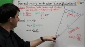 Rechtwinkliges Dreieck Online Berechnen : sinus rechtwinkliges dreieck video mathe ~ Themetempest.com Abrechnung