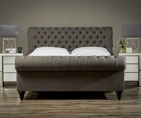 bed frame and mattress stanhope studded chesterfield bed upholstered beds from