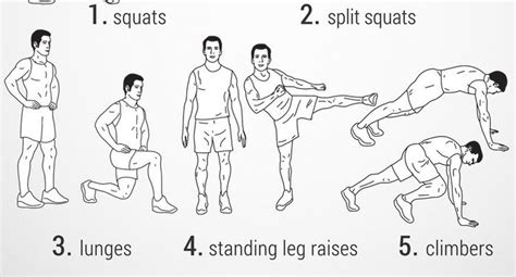 home leg workouts  minute   workout