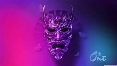 Oni Mask 4k Desktop Wallpapers Uhd