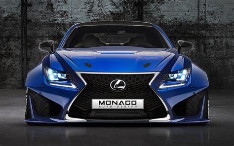 widebody lexus lfa lexus rcf widebody monaco auto design by