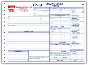 hvac service order invoice forms With hvac service invoice forms