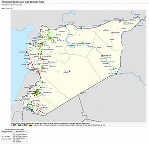 syria template map With syria war template