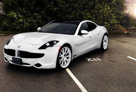 Wallpaper Fisker Karma, Luxury, Sports Car, White, Sedan