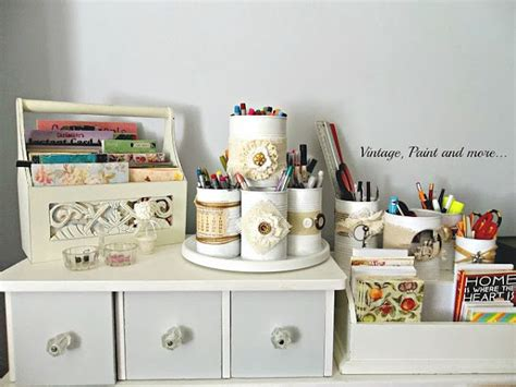 organizing your craft room on a budget vintage paint