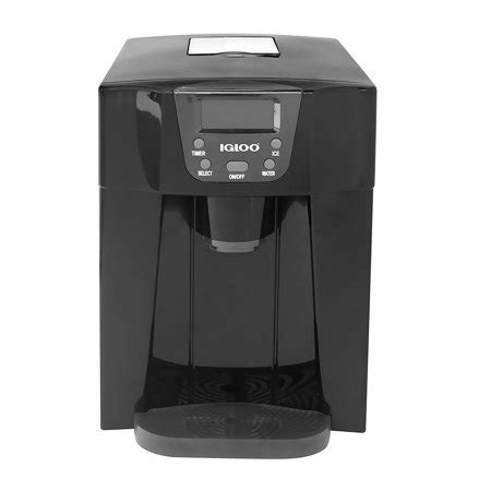 igloo countertop maker igloo countertop and water dispenser black ice227