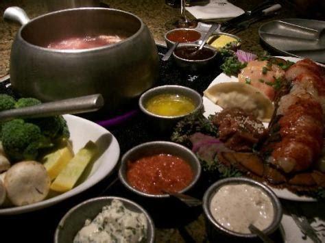 melting pot cuisine the melting pot restaurant review the wine guru