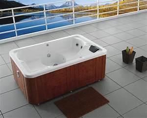 Outdoor whirlpool ibado vw 715 mit radio 3 personen neu for Whirlpool garten mit leeb balkone preise
