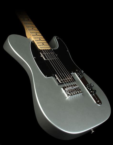 Fender Blacktop Telecaster HH Electric Guitar Silver   The ...