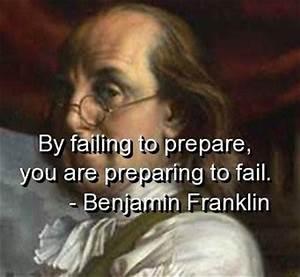 Benjamin franklin quotes sayings prepare fail wisdom ...