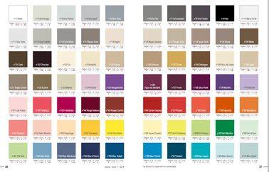 palette de couleur peinture pour chambre peinture 70 couleurs pour tout repeindre dans la maison