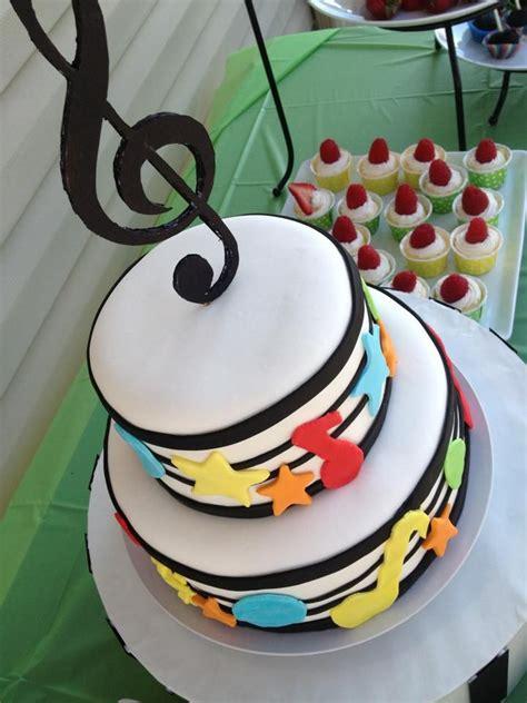 Best 25+ Music Themed Cakes Ideas On Pinterest Music