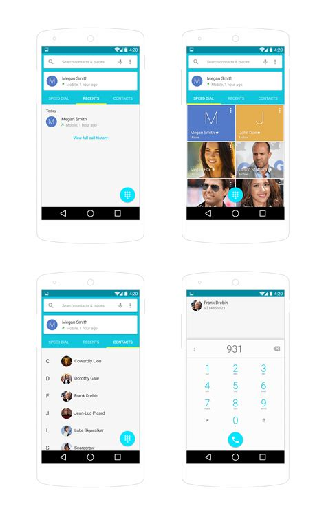 android ui top 10 free material design psd templates and ui kits